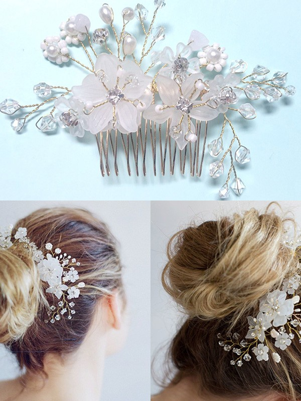 Very Elegant Czech Pearl Headpieces